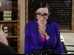 Hot big-boob office slut fuck boss'_ big-dick 16
