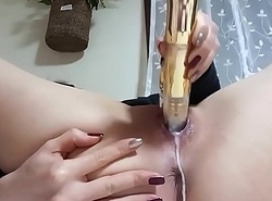 Horny amateur has a creamy turning-point on livecam paxcams.com