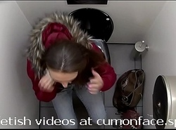Spycam toilet Pissing girl 13
