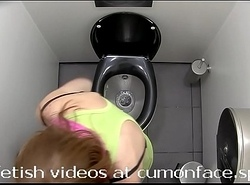 Spycam rest room Pissing girl 6