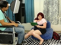 Busty BBW Cut up try-out for Diary increased by Fucks Director