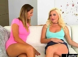 (Cameron Dee &amp_ Val Midwest) Legal age teenager Amazing Cuties Busy With reference to Hawt Lesbian Sex Act vid-09