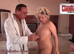 Claudia Marie Dissemble Tits Cut Out!