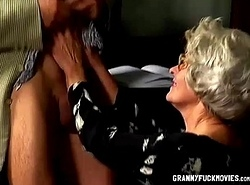 Granny Can't live without Fat Cock Added to Anal